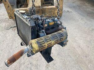 Kubota D950 Engine; GOOD RUNNER!!! 3 Cylinder Diesel; D950-BG1