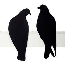 SALE Love Gifts Design Birds Wall Decor Shelf Sculpture 2 Metal Pigeons Doves