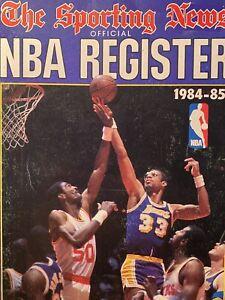 1984-85 The Sporting News NBA Register-Los Angeles Lakers Kareem Abdul Jabbar