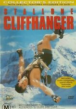 Cliffhanger DVD Cliff Hanger - Action Adventure - Extreme Sports Movie vgc t49