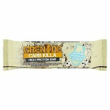 Grenade Carb Killa Protein Bar, White Chocolate Cookie - 60g (pack of 24)