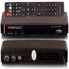 ► Opticum HD AX Lion 3 DVB-T2 H.265 HEVC Receiver FullHD USB HDMI DVBT2