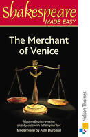 Shakespeare Made Easy: The Merchant of Venice by Durband, Alan (Paperback book,