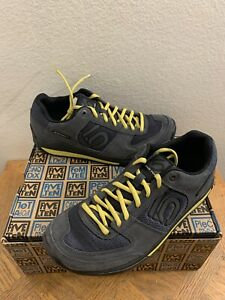 New Five Ten 5177 Aescent Dark Grey/citron Men's Size 8.5