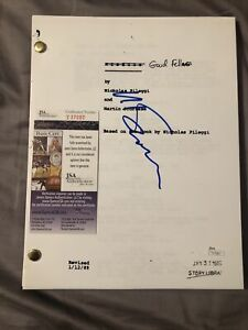 MARTIN SCORSESE SIGNED GOODFELLAS SCRIPT AUTHENTIC AUTOGRAPH JSA COA HISTORY!