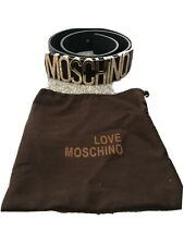 womens moschino belt