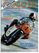 M7613-SUZUKI GT 500. POSTER DUTCH TT,CECOTTO,DITCHBURN