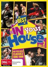 WWE - The Best Of In Your House - Pay-Per-View Classics 1995-1999 (DVD, 2013, 3-