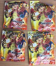 Bundle Of 4 Bakugan Battle Brawlers, Mini Surprise Bag Set Of 4