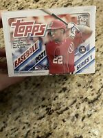 2021 Topps Series 1 Blaster Box - New Factory Sealed - 7 packs & RC's + patch