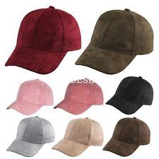 Fashion Snapback Suede Baseball Cap Womens Mens Casquette Sport Hip Hop Flat Hat