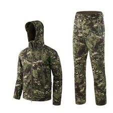 Outdoor Waterproof Jackets Suit Tactical Clothes Hiking Sport Jacket and Pants