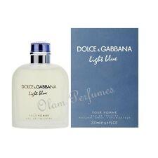 Dolce & Gabbana Light Blue Pour Homme Eau de Toilette Spray 6.7oz 200ml * New *