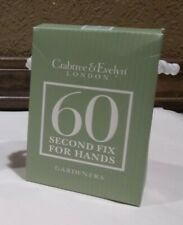 New Crabtree & Evelyn Gardeners 60 Second Fix Hand Therapy & Hand Recovery Cream