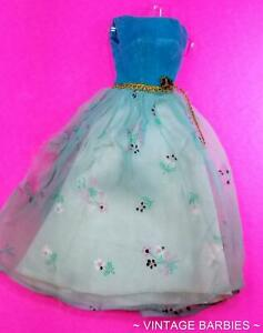Barbie Doll Let's Have A Ball #1879 Dress / Gown HTF TLC ~ Vintage 1960's