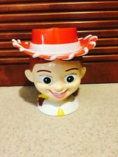 "Disney TOY STORY JESSE JESSIE Plastic Flip Lid Mug Cup ""Disney on Ice"""