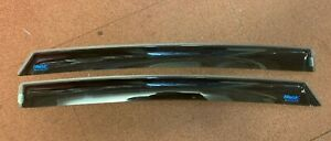 ClimAir 044400 Rear Wind Deflectors Toyota Prius Plus (Chipped)