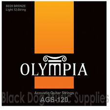 Quality Olympia Twelve string Acoustic Guitar Strings - 12