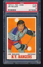 1970 OPC O-Pee-Chee JIM NEILSON #185 PSA 9