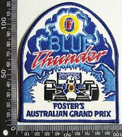 VINTAGE BLUE THUNDER ADELAIDE AUSTRALIAN GRAND PRIX PATCH SOUVENIR CLOTH BADGE