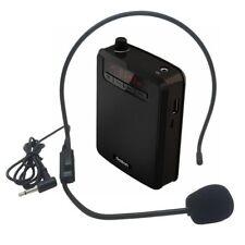 Altavoz Micrófono Amplificador de Voz  Megáfono para profesores , guias, etc