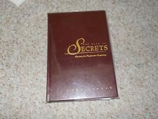 New listing The Book of Secrets John Carney Deluxe Edition Signed