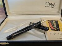 OMAS Extra Paragon Old Version 1991 Perla Celluloid Fountain Pen, NOS!