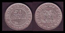 ★★ BOLIVIE ● 50 CENTAVOS 1995 ● E14 ★★