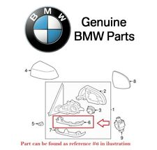 For BMW F15 F16 F25 F26 Driver Left Auxiliary Turn Signal Light Mirror Assy OES