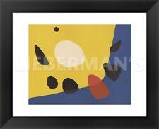 FRAMED ART Untitled, 1963 Alexander Calder Print Contemporary Black Frame 13x16