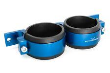 Doppel Benzinpumpenhalter 2x60mm Blau