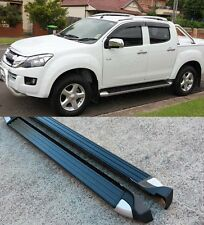 Running Boards Side Steps to suit Isuzu D-max Dmax / Holden Colorado 2012-2017