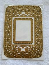 Anna Griffin Ornate Square Metal Die - Paper Crafting Cards - Set of 2