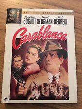 Casablanca (Dvd, 2003, 2-Disc Set, Two Disc Special Edition) Humphrey Bogart