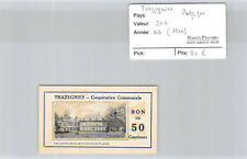 Belgique - Trazegnies 50 centimes ND 1914