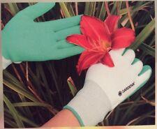 4 Pair Gardena Women's Garden Gloves Premium Nitrile Dipped - Free Shipping