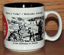 NOS 1994 COCA-COLA ALABAMA to ALASKA CUP/MUG - 1943-1944 NEWSPAPER ADVERTISEMENT