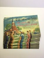 Lot Of 25 Vintage Come With Us Next Sunday Postcards Unposted. 1940's