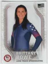 2018 Topps US Winter Olympics US Flag /99 #USA-34 Brittany Bowe Speedskating