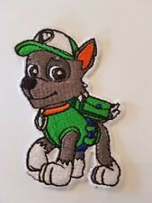 Rocky paw patrol Embroidered Badge Costume scarfs, bags, hats,