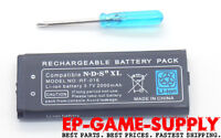 New Battery Replacement Pack For Nintendo DSi XL 2000mAh 3.7V Rechargeable Tool