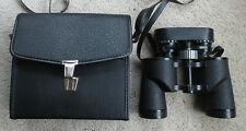 "Binoculars Sears Discover 8X - 17X Zoom 40mm Vintage Excellent With Case ""Sale"""