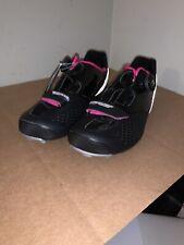 New Black Louis Garneau-Women's Carbon Ls-100 2 II Cycling Size 37 EU - 7.5 US