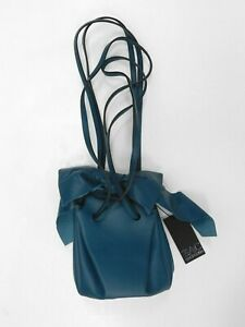 Zac Posen Teal Bucket Bag (tags attached)