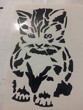 Cat Vinyl Decal For Bottle