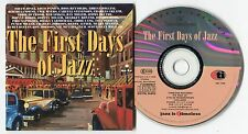 The first days of Jazz Cd © 2000 Timeless historical Cbc 1-046 Cardsleeve Barber