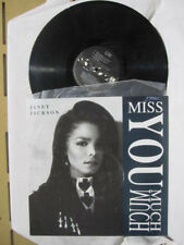 "JANET JACKSON MISS YOU MUTCH VINYL EP RECORD 12""  Limited Edition"