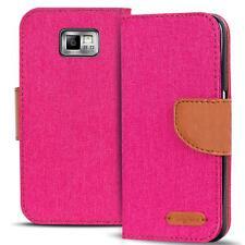 Schutzhülle Samsung Galaxy S2 Plus Hülle Flip Case Handy Tasche Klapphülle Cover