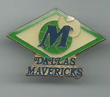 NBA Dallas Mavericks Lapel Logo Pin Basketball OOP Vintage 1988 Peter David MAVS