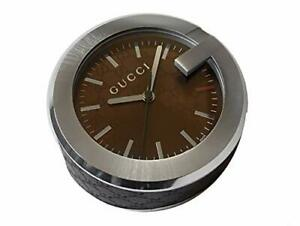 Gucci table clock Brown YC210007 [parallel import goods]